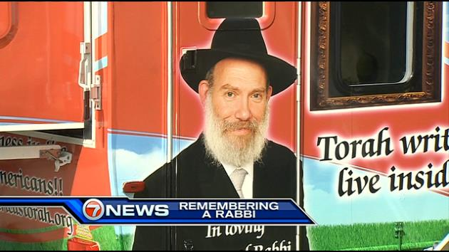 traveling with travelling rabbi