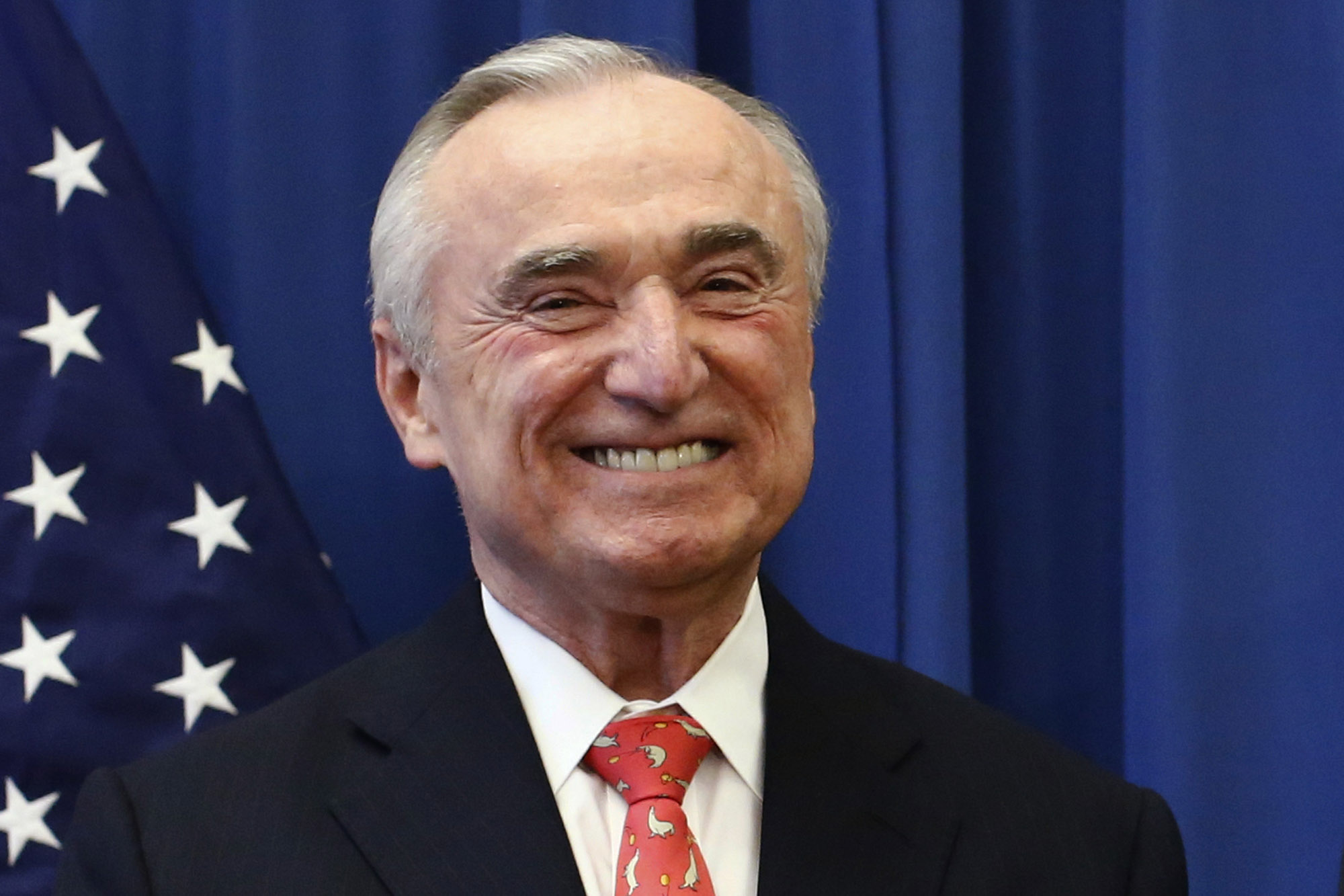 william bratton and the nypd Lower manhattan — the nypd's controversial stop-and-frisk policy is essential to keeping the city safe — but only if it's used in moderation, former police commissioner bill bratton said.