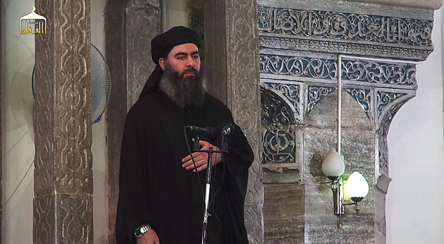 a discussion on the reward for abu bakr This file photo taken on july 5, 2014 shows the leader of the islamic state, abu  bakr al-baghdadi, speaking in mosul (afp/getty images.
