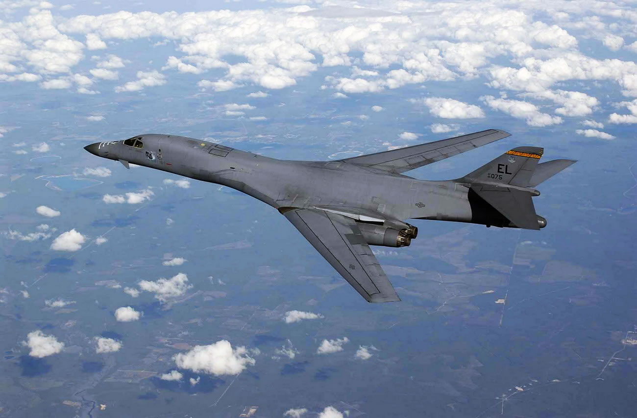 Rusisian supersonic bombers intercepted by Belgian and UK ... B1 Lancer Supersonic
